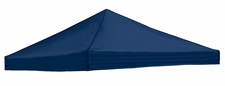 Plain Navy Logo Tent Replacement Canopy