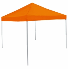 Plain Orange Logo Canopy Tailgate Tent