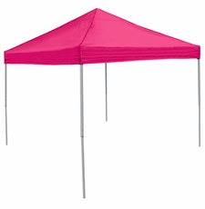 Plain Pink Logo Canopy Tailgate Tent