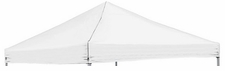 Plain White Logo Tent Replacement Canopy