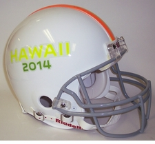 Pro Bowl 2014 - Riddell Authentic NFL Full Size Proline Football Helmet