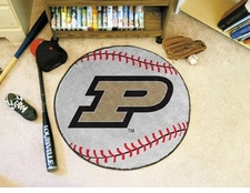 "Purdue Boilermakers 27"" Baseball Floor Mat"