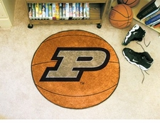 "Purdue Boilermakers 27"" Basketball Floor Mat"