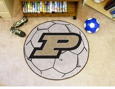 "Purdue Boilermakers 29"" Soccer Ball Floor Mat"