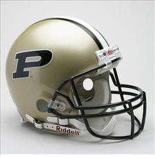 Purdue Boilermakers Riddell Pro Line Authentic Helmet