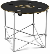 Purdue Boilermakers Round Tailgate Table
