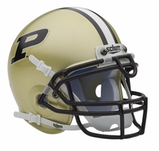 Purdue Boilermakers Schutt Authentic Mini Helmet