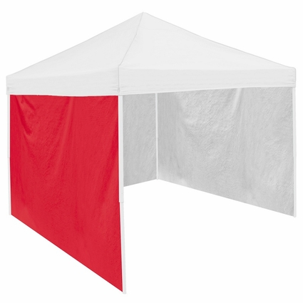 Red Tent Side Panel for Logo Canopy Tailgate Tents