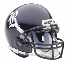 Rice Owls Schutt Authentic Mini Helmet