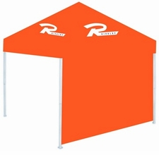Rivalry Canopy Tent Sidewall - Dark Orange