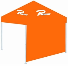 Rivalry Canopy Tent Sidewall - Light Orange