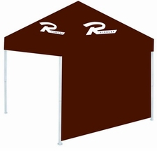 Rivalry Canopy Tent Sidewall - Maroon
