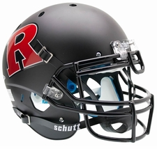 Rutgers Scarlet Knights Black Red R Schutt XP Authentic Helmet