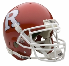 Rutgers Scarlet Knights Schutt Authentic Full Size Helmet