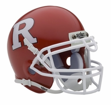 Rutgers Scarlet Knights Red Schutt Authentic Mini Helmet