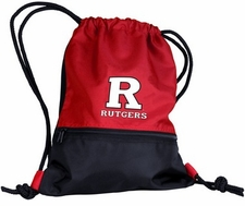 Rutgers Scarlet Knights String Pack / Backpack