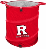 Rutgers Scarlet Knights Tailgate Trash Can / Cooler / Laundry Hamper