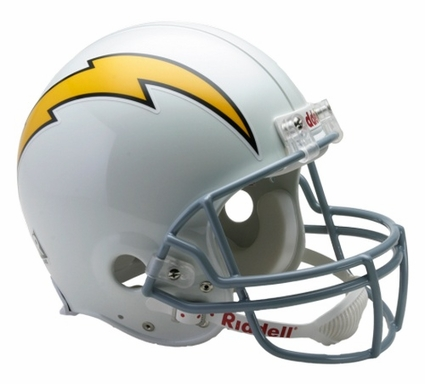 San Diego Chargers 1961-73 Throwback Riddell Pro Line Helmet