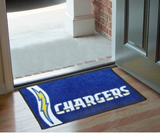 "San Diego Chargers 20""x30"" Uniform-Inspired Floor Mat"