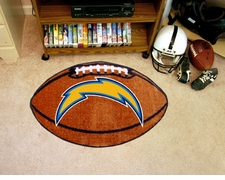 "San Diego Chargers 22""x35"" Football Floor Mat"