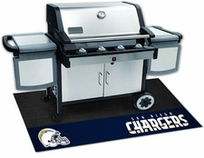 San Diego Chargers 26x42 Grill Mat