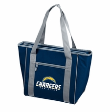 San Diego Chargers  30 Can Cooler Tote