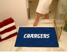 "San Diego Chargers 34""x45"" All-Star Floor Mat"