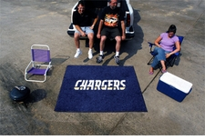 San Diego Chargers 5'x6' Tailgater Floor Mat