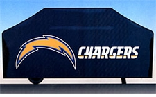 San Diego Chargers Deluxe Barbeque Grill Cover