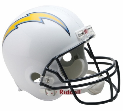 San Diego Chargers Full-Size Deluxe Replica Helmet