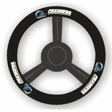 San Diego Chargers Leather Steering Wheel Cover