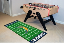 "San Diego Chargers Runner 30""x72"" Floor Mat"