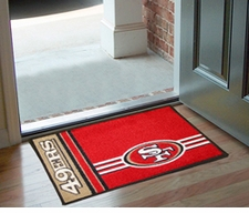 "San Francisco 49ers 20""x30"" Uniform-Inspired Floor Mat"