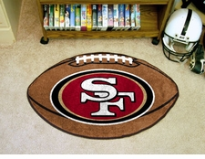 "San Francisco 49ers 22""x35"" Football Floor Mat"
