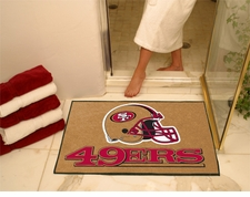 "San Francisco 49ers 34""x45"" All-Star Floor Mat"