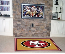 San Francisco 49ers 4'x6' Floor Rug