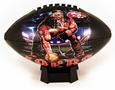 San Francisco 49ers Attitude High Gloss Junior Size Football