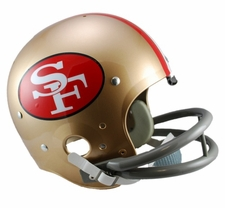 San Francisco 49ers Classic TK 1964-95 Throwback Riddell Replica Helmet