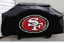 San Francisco 49ers Deluxe Barbeque Grill Cover