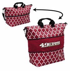 San Francisco 49ers  - Expandable Tote (patterned)