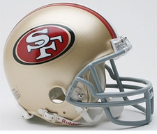 San Francisco 49ers Riddell Replica Mini Helmet