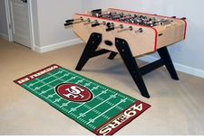 "San Francisco 49ers Runner 30""x72"" Floor Mat"