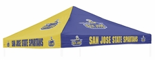 San Jose State Spartans Blue / Gold Logo Tent Replacement Canopy
