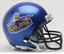 San Jose State Spartans Riddell Replica Mini Helmet