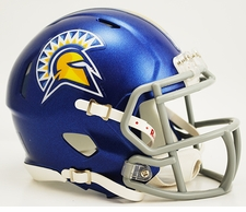 San Jose State Spartans Riddell Speed Mini Helmet