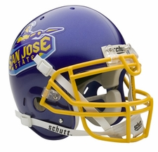 San Jose State Spartans Schutt Authentic Full Size Helmet