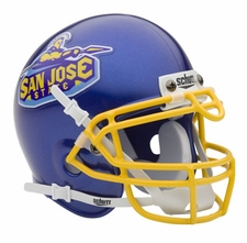 San Jose State Spartans Schutt Authentic Mini Helmet