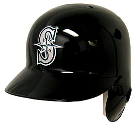 Seattle Mariners Left Flap Rawlings Authentic Batting Helmet