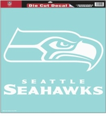 Seattle Seahawks 18 x 18 Die-Cut Decal