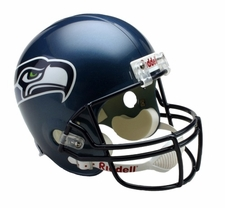 Seattle Seahawks 2002-11 Throwback Riddell Deluxe Replica Helmet